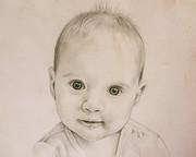 Portrait vom Foto, Babyportrait, Karin_Scholz_Home 1 Kunst