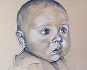 Portrait vom Foto, Babyportrait,  Karin_Scholz_Home 2  Kunst